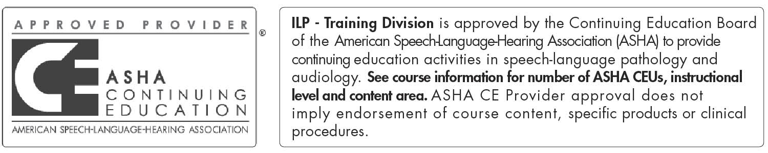 ASHA Continuing Education Provider logo